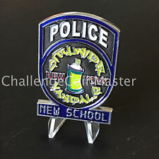 B70 NYPD CVTF Citywide Vandals Task Force Old School New School Challenge Coin