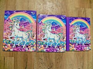 Lisa Frank Rainbow Mischief Unicorn Folder, Spiral Notebook, Composition Book