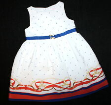 Janie and Jack Autumn Equestrian A Girl & her Horse Border Dress Sz 18-24 Months