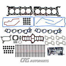 "01-02 FORD E-150 EXPEDITION F-150 4.6L SOHC V8 HEAD GASKET SET w/ BOLTS VIN ""W"""