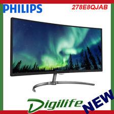 "Philips 278E8QJAB 27"" FHD Curved UltraWide VA LED Monitor"