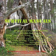 CD - Survival Manuals, Shelter, Food, Hunting, Medical - 167 eBooks+Food Pics