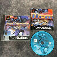 Rollcage PS1 PlayStation 1 PAL Game Complete Black Label Psygnosis Racer