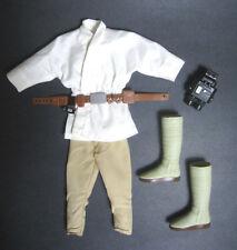 1/6 Jedi Farmboy Luke Skywalker Hasbro Star Wars Outfit for Sideshow Hot Toys 12