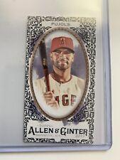 Albert Pujols 2017 Topps Allen and Ginter Mini Black Border #2 Cardinals Angels
