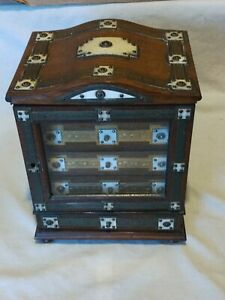 Antique/Vintage Free Standing Jewellery/Curio Cabinet