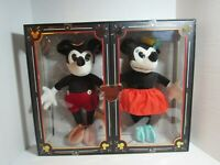 WALT DISNEY Mickey and Minnie Mouse Collectible Plush Doll Set – Limited Release