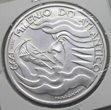 PORTUGAL 1999 SILVER COIN 1000 ESCUDOS/ MILLENNIUM OF ATLANTICO