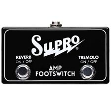 Supro SF2 Tremolo Reverb Footswitch for Saturn Royal Reverb Titan Jupiter Amps