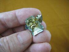 (r48-99) 11 gram Bismuth rainbow crystal element Bi gemstone Mineral specimen US