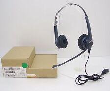 Jabra GN2000 Duo Noise-Canceling Gray Headband Telephony QD Headset 2089-820-105