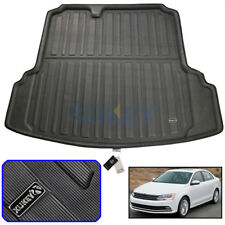 For VW Jetta Mk6 Sedan 12-18 Boot Cargo Liner Rear Trunk Floor Mat Tray Carpet