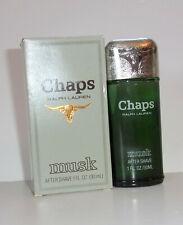 CHAPS Musk After Shave 1oz  Aftershave Ralph Lauren