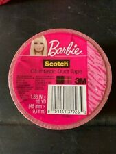 New 3M Barbie Doll Glamtastic Duct Tape (Pink) 1.88 In X 10 Yd (5 Rolls)