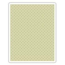 Sizzix - Tim Holtz Alterations - Texture Fades Embossing Folder - Tiny Dots