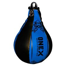 Onex Leather Speedball & Swivel Boxing Bag Punching Training MMA Speed Ball Cord