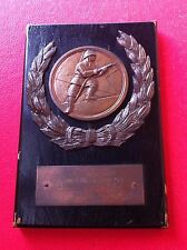 FIREFIGHTING PLAQUE MEDAL 1962 CROATIA EX YUGOSLAVIA FIREFIGHTERS FIREMAN -RARRE
