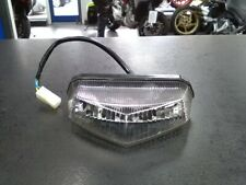 UNIVERSAL CLEAR LENS LED TAIL STOP LIGHT RIEJU DERBI CPI APRILIA