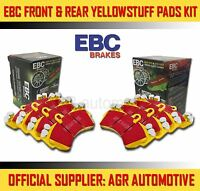 EBC YELLOWSTUFF FRONT + REAR PADS KIT FOR PEUGEOT 406 COUPE 2.0 1997-05