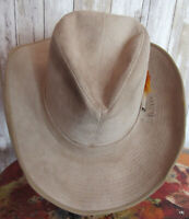 Resistol Stagecoach size 7 Ranchman Western Cowboy Hat Feathered Stagecoach Pin