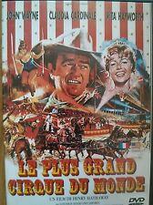 Dvd Le Plus Grand Cirque du monde Henry Hathaway John Wayne TBE envoi rapide