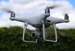 DJI Phantom 4 Pro Drohne 4K Weiß Komplettset 2 Akkus TOP