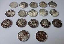 17 x 2  Euro 2012 Bargeld TYE Gemeinschaftsausgabe komplett unc Euromünzen