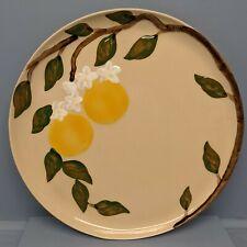 Vintage California Hollywood Ware Orange Blossom 13 Inch Platter Nice