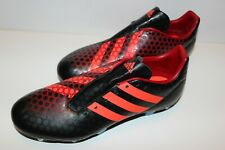 Men's Adidas Predator Incurza Orange / Black Original Rugby Football Boots UK 9