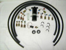 Air Conditioning A/C Hose Kit,Fittings,Drier & Binary Switch,General Use/Rat Rod