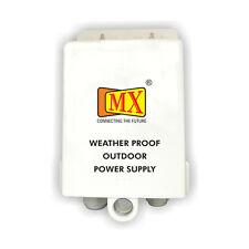 MX Cctv Camera Outdoor Power Supply Heavy Duty Plastic Box - MX S 014