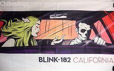 BLINK 182 California HUGE 3X5 BANNER poster tapestry cd album cover art