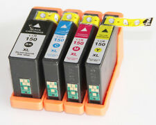 Lexmark #150XL Set of 4 Color Ink Cartridges for Pro 715/Pro 915/S315/S415/S515