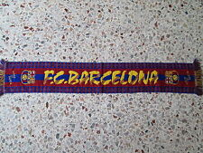 d7 sciarpa BARCELONA FC football club calcio scarf bufanda echarpe spagna spain