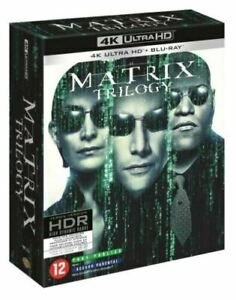 Coffret Matrix la trilogie 4K Ultra HD + Blu-ray