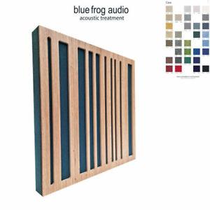 1 x BF-075 Mini Acoustic Panel with Oak Binary Diffuser