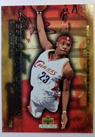 2003 03-04 Upper Deck Freshman Season Collection Lebron James Rookie RC #10 CAVS