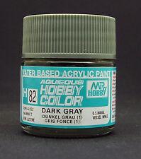 GUNZE SANGYO H82 Drak Gray (1) water based acrylic paint 10 ml
