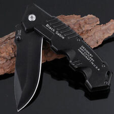 Tactical Folding Blade Knife Knives Stainless Steel Utility Hiking Tool Jae