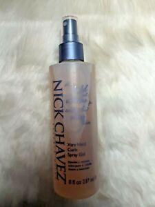 NICK CHAVEZ Beverly Hills XTRA HOLD Curls Spray Gel 8 fl oz/237 mL *READ