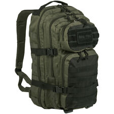 Mil-Tec US Assault Pack Small Hiking Backpack Army Military Ranger Green/Black