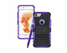 Heavy Duty Tough Shock Proof Hard Back Case Cover For Various iPhones & iPod