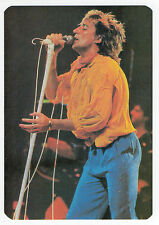 1986 Portugese Pocket Calendar UK Do Ya Think I'm Sexy singer Rod Stewart