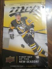 Factory Sealed Hobby Box - 2015 2016 Upper Deck MVP Hockey Cards