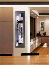 Statements2000 Modern 3D Metal Wall Sculpture Art Silver Black Decor Jon Allen