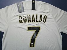 Cristiano Ronaldo (Fly Emirates) Signed Autographed Soccer Jersey includes COA
