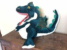 "FOLKMANIS Large 20"" Green Dragon Plush Full Body FOLKTAIL Hand Puppet Play Stage"