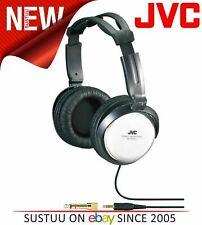 Jvc HA-RX500 Plateado Completo Talla Alta Calidad Extra Bass Estéreo Auriculares