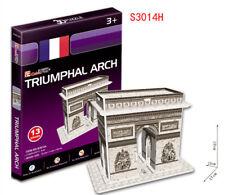 Childs Papiermodell 3D Puzzle DIY Spielzeug Geduldspiele Of Triumphal Arch