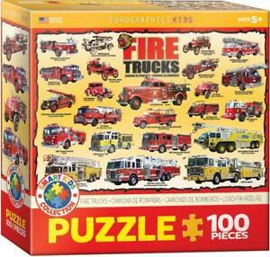 Fire Trucks 100-Piece Puzzle
